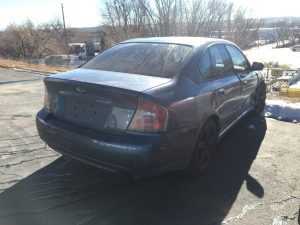 2006 legacy sedan right rear
