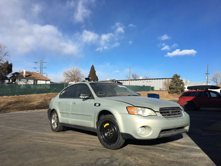 2006 Subaru Outback Sedan 3.0l 169k Automatic Gold
