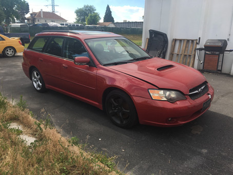 2005 Subaru Legacy GT 169k Manual 5speed wagon red