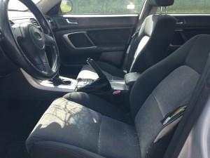 2005 Subaru Outback 2.5i interior