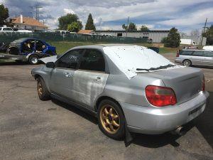 2004 wrx left rear
