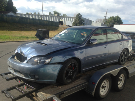 2005 Subaru Legacy GT sedan complete part out automatic 160k
