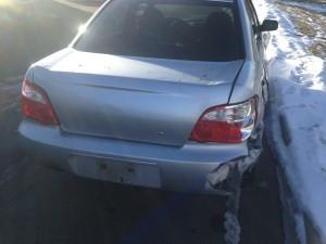 2005 WRX sedan rear