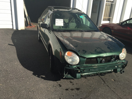 2002 Subaru Impreza Outback Sport wagon 134k part out