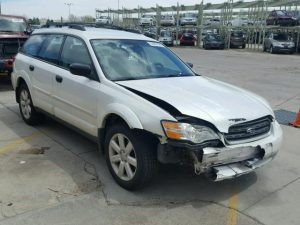 2007 Outback front right