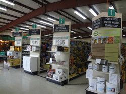 Griffin Lumber Store Isles