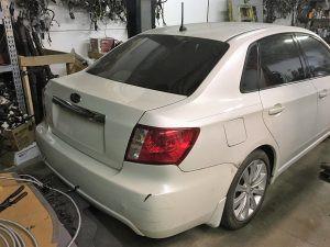 2008 Subaru WRX sedan  RR