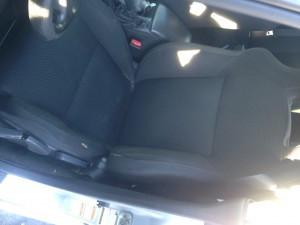 2005 WRX sedan drivers seat