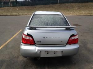 2004 Subaru WRX sedan rear