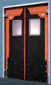 Summit Equipment, impact traffic doors