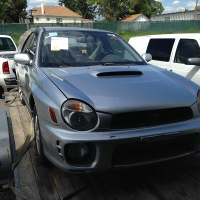 2002 WRX front