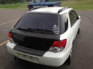 2004 Subaru WRX wagon rr