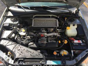 2005 WRX wagon engine bay