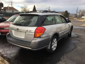 2007 outback wagon right rear