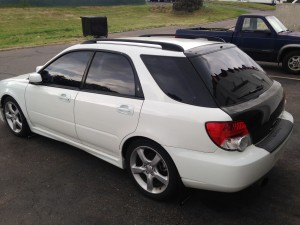 2004 Subaru WRX wagon lr