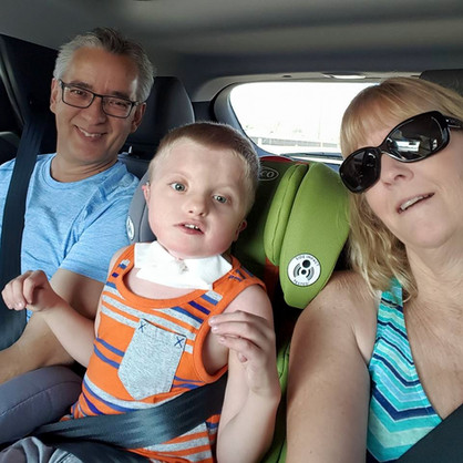 Caiden and Grandparents