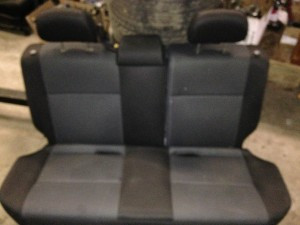 2004 Subaru WRX wagon rear seats