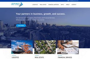 GFAC Logistics website