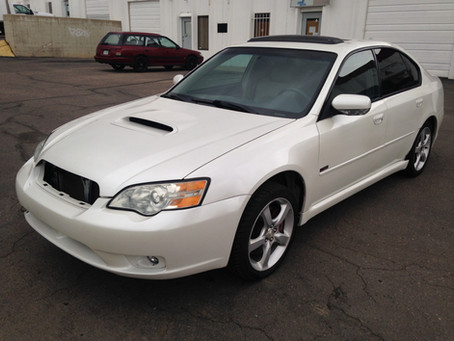 2006 Subaru Legacy GT sedan 5 speed 98k full part out