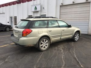 2006 Outback rear right