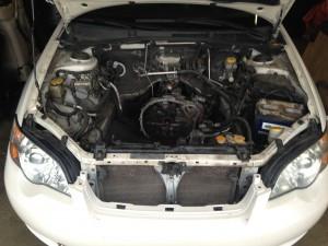 2006 Subaru Legacy GT engine bay