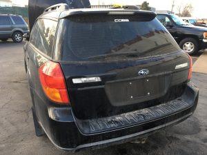 2005 Outback XT rear left