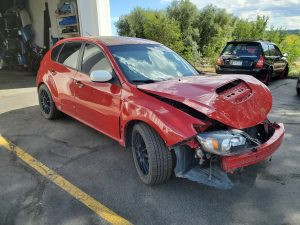 2008 STI hatch 2008 STI hatch front rightleft