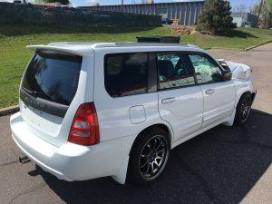 2005 Subaru Forester XT Right