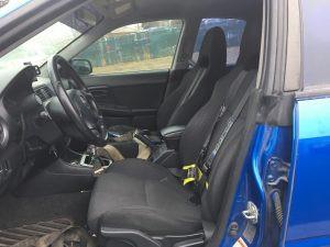 2004 WRX sedan interior