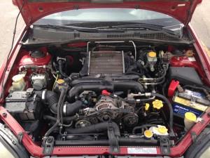 2005 Subaru Outback XT engine