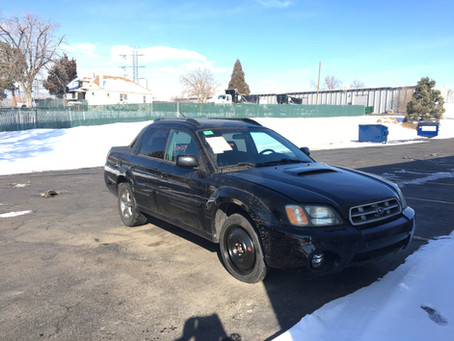 2006 Subaru Baja Turbo 191K black M/T 5speed