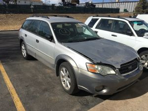 2006 Outback wagon front right