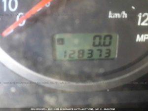 2005 Subaru RS sedan mileage