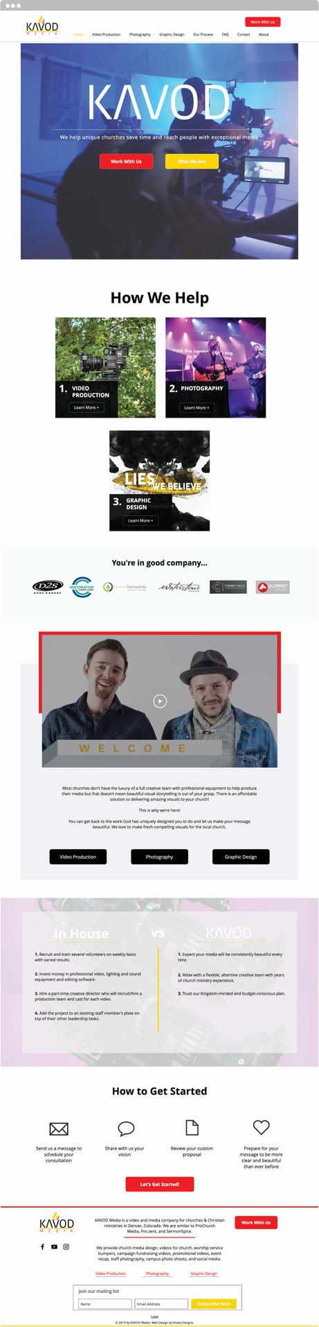 Custom Web Design Denver