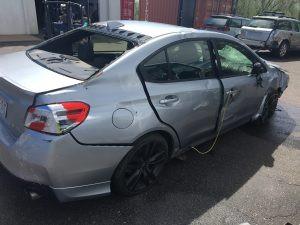 2016 Subaru WRX right rear