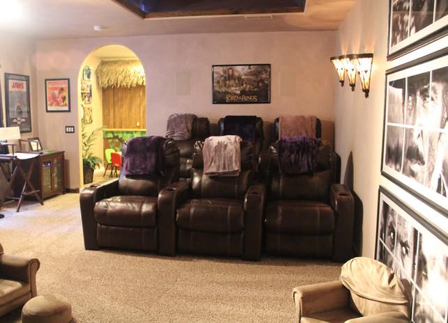 custom home theater
