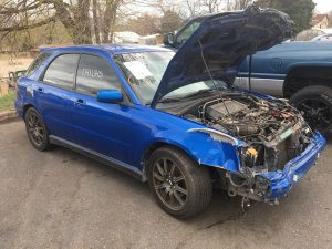 2004 Subaru WRX wagon RF