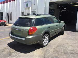 2007 Outback rear right