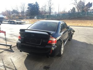 2009 legacy GT right rear