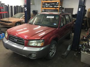 2005 Subaru forester front left