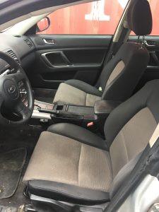 2005 Legacy Sedan interior