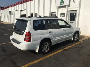 2004 Forester xt right rear