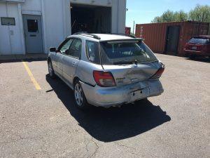 2002 Subaru WRX rear end