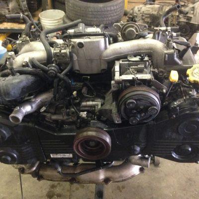 2002 WRX engine 1