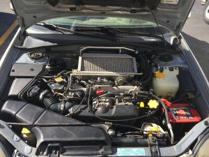 2002 WRX engine bay