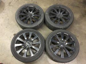 2007 WRX sedan wheels and tire