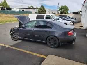 2009 Legacy GT rear left