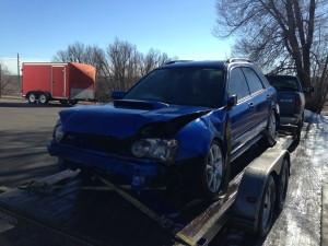 2004 Subaru WRX wagon front