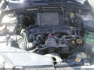 Subaru outback XT engine bay