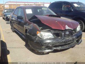 2006 Subaru WRX sedan rf